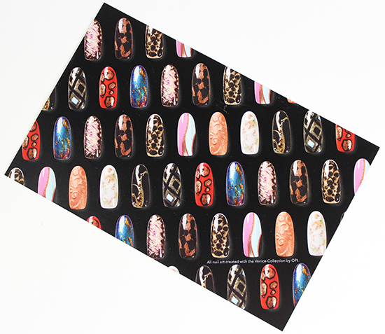 OPI Venice Collection Nail Art