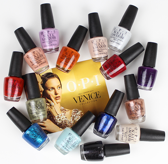 OPI Venice Collection pictures