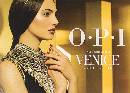 OPI Venice Fall Winter 2015 Collection