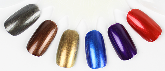 Zoya Flair Collection Swatches