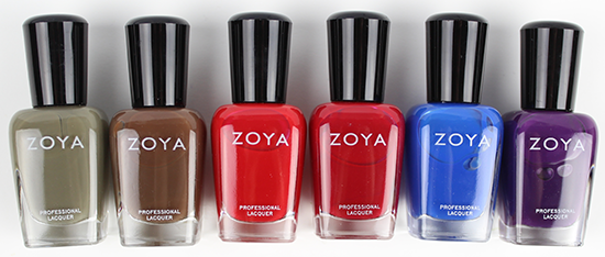 Zoya Focus Collection 2015