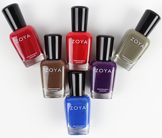 Zoya Focus Collection Fall 2015