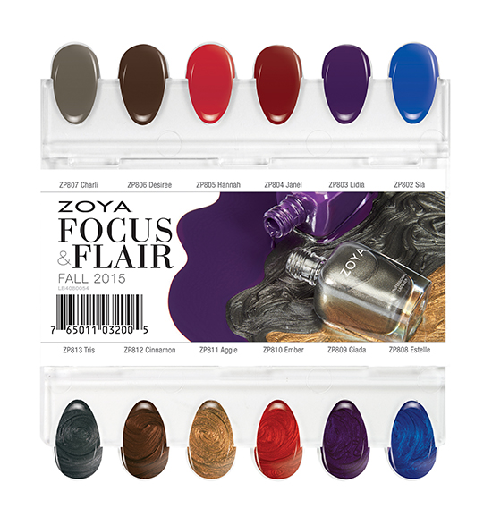 Zoya Focus & Flair Collection Swatches