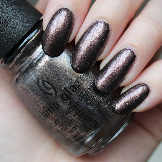 China Glaze Wood You Wanna Swatches & Review