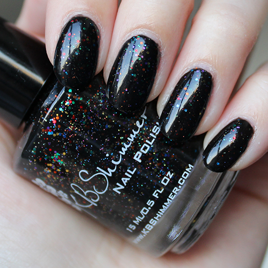 KBShimmer Dark and Twisty Swatch & Review