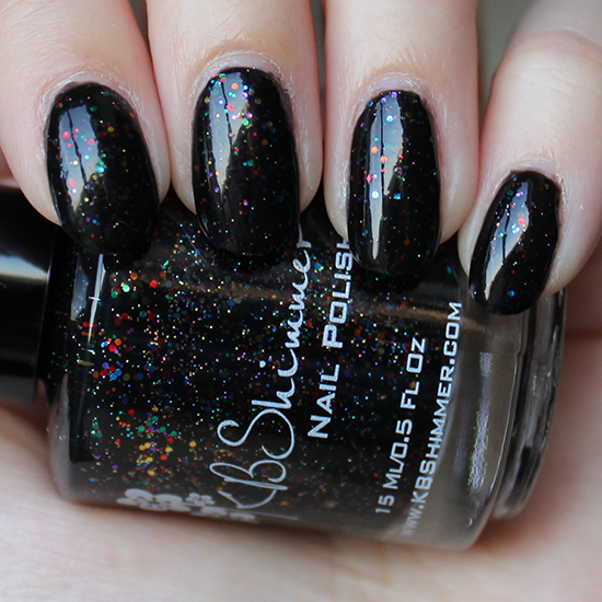 KBShimmer Dark and Twisty Swatches
