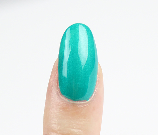 Misa The Grass is Greener on My Side Nail Polish