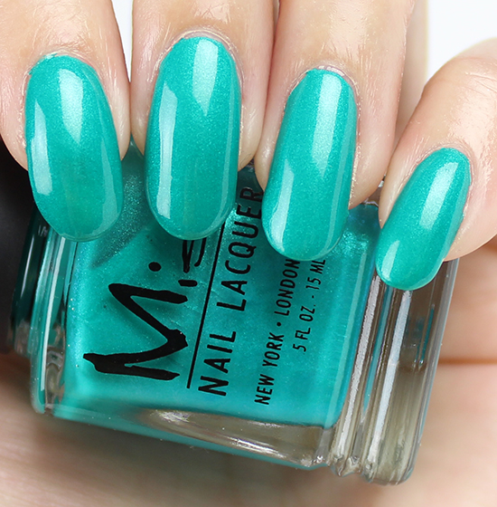 Misa The Grass is Greener on My Side Swatch & Review