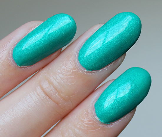 Misa The Grass is Greener on My Side Swatch