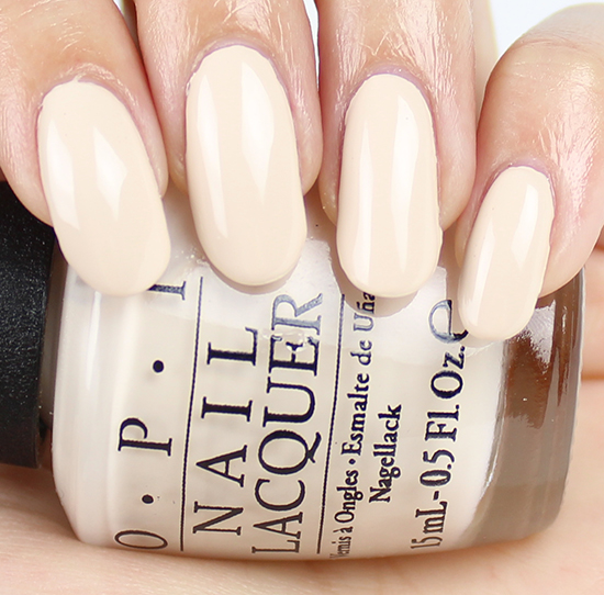 Opi Be There In A Prosecco Swatches Amp Review Swatch And