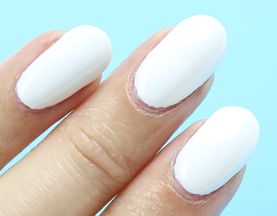 Opi Infinite Shine Non Stop White Swatches Amp Review