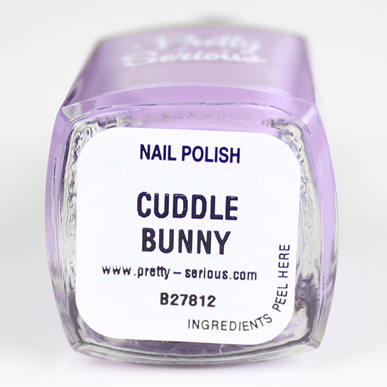 Cuddle Bunny Pretty Serious Cosmetics