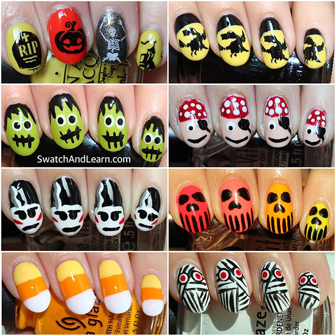 Halloween Nail Art Ideas Nails