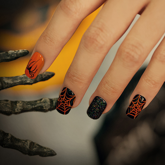 Broadway Nails imPRESS Press-on Hallowe'en Nails | Swatch ...