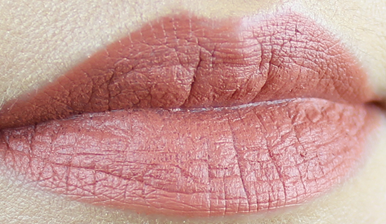 Maybelline Creamy Mattes Lipstick Clay Crush Swatch