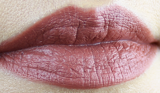 Maybelline Creamy Mattes Lipstick Nude Nuance Swatch