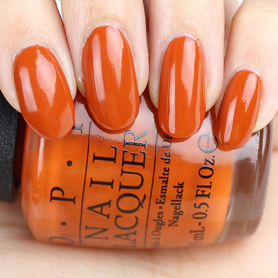 Opi Its A Piazza Cake Swatch