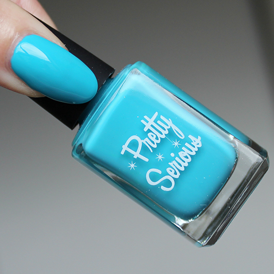 Pretty Serious Cosmetics Pookie Swatch