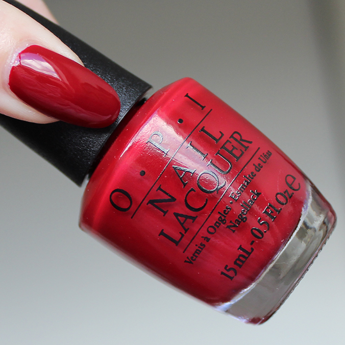 Amore at the Grand Canal OPI Venice Collection