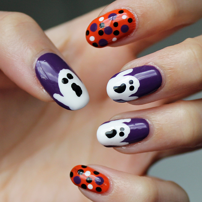 Ghost Nail Art Nail Blogger
