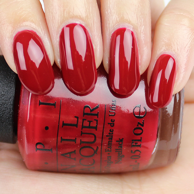 OPI Amore at the Grand Canal Swatch & Review
