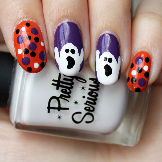 Pretty Serious Presence Halloween Nails Nail Art