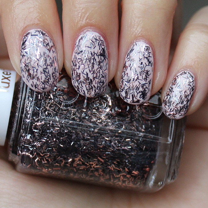 Essie Fringe Factor Swatches Amp Review Layered Over Essie