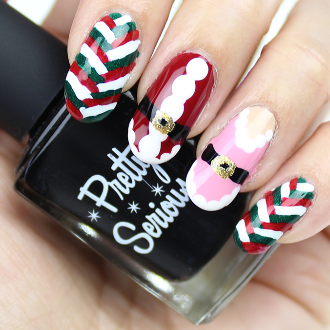 Holiday Nail Art Nails