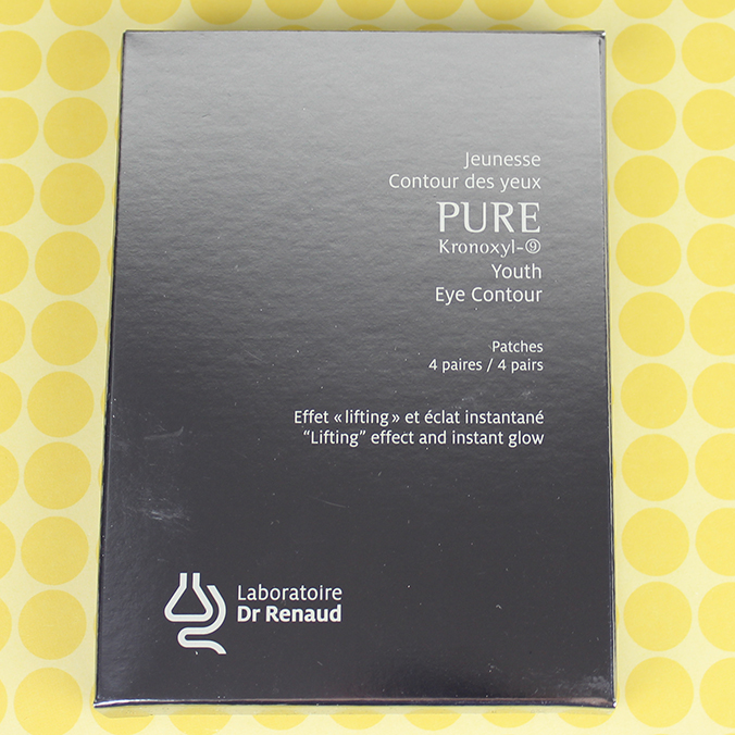 Laboratoire Dr Renaud Pure Kronoxyl-9 Youth Eye Contour Patches