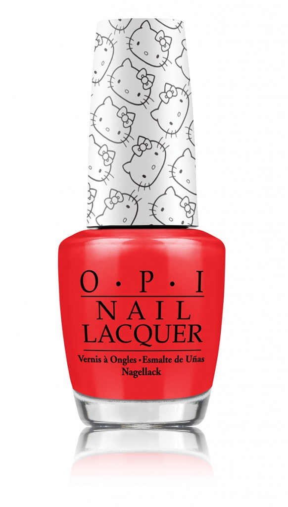 OPI Hello Kitty Collection 5 Apples Tall