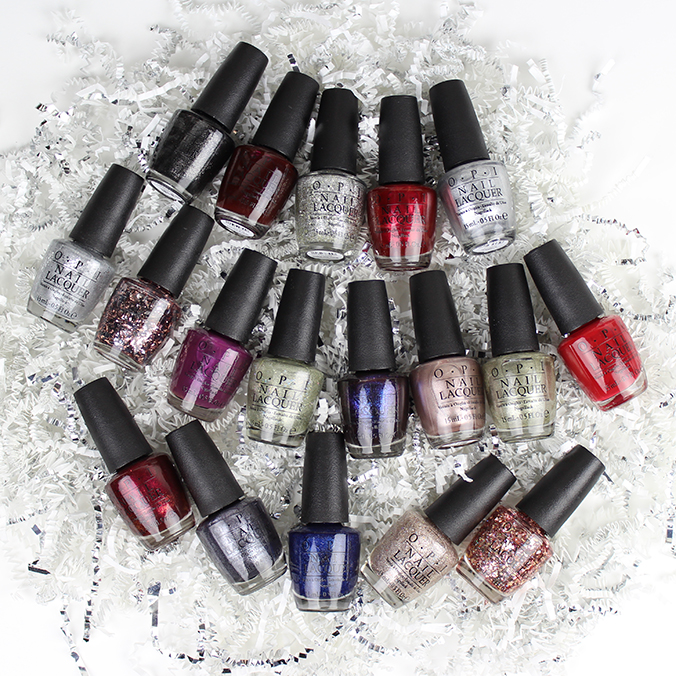 OPI Starlight Collection Picture