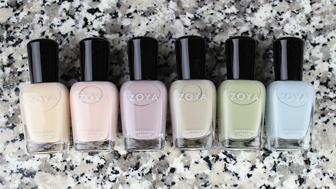 Zoya Whispers Collection Pictures