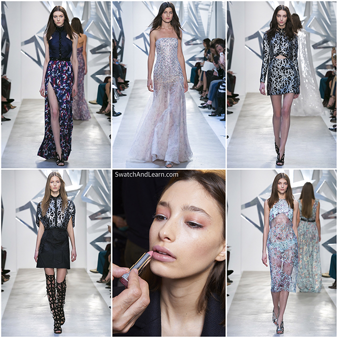 Azzaro Couture Spring Summer 2016 Fashion Show Maybelline New York