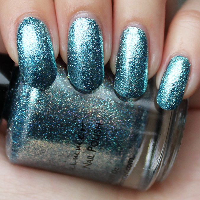 KBShimmer Blue Topaz Swatch Swatches