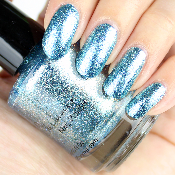 KBShimmer Blue Topaz Swatches & Review