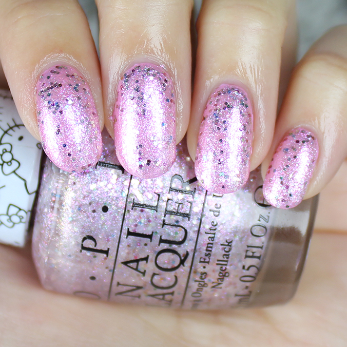 OPI Charmmy & Sugar Review Swatch