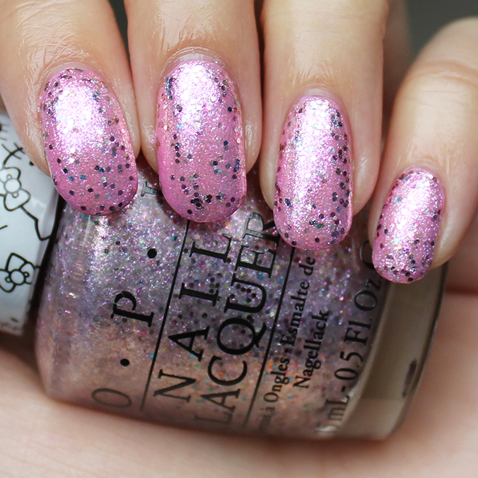 OPI Charmmy & Sugar Swatch Pictures