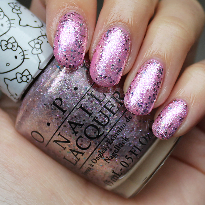 OPI Charmmy & Sugar Swatch Swatches