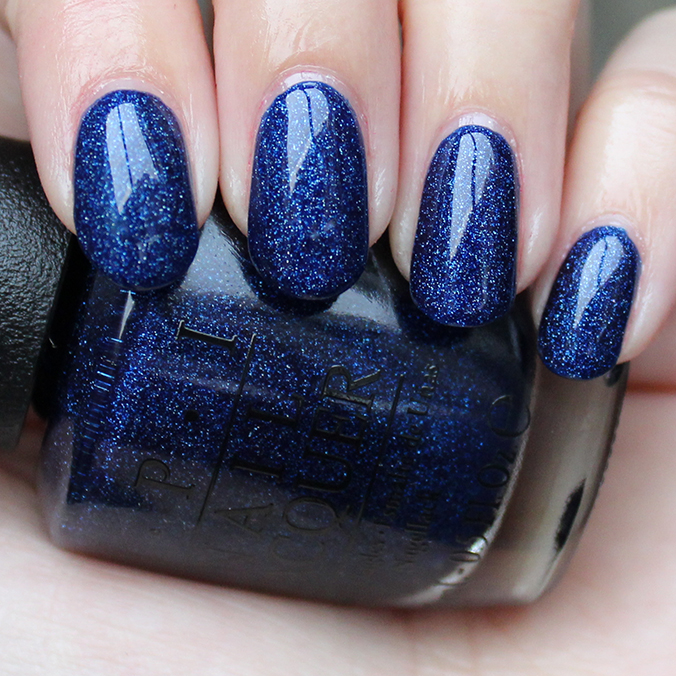 OPI Give Me Space Swatch Starlight Collection Swatches