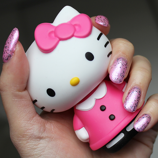 OPI Hello Kitty Collection OPI Charmmy & Sugar Swatches