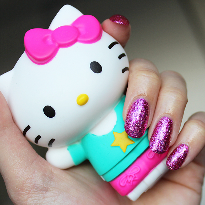 OPI Hello Kitty Collection Swatch Starry-Eyed for Dear Daniel