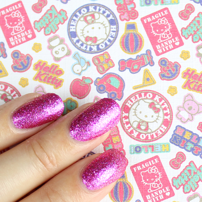 OPI Hello Kitty Collection Swatches Starry-Eyed for Dear Daniel
