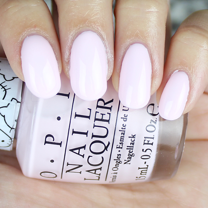 OPI Let's Be Friends Nail Swatch