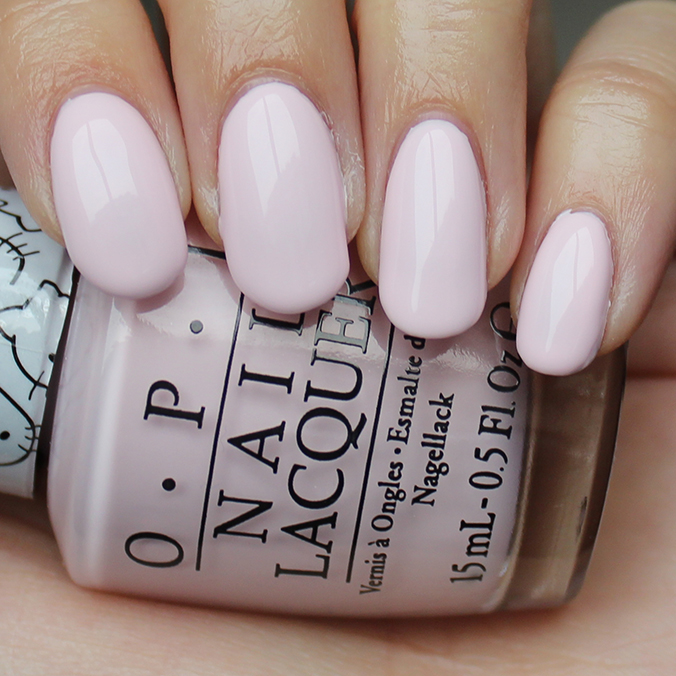 OPI Let's Be Friends Swatches Hello Kitty