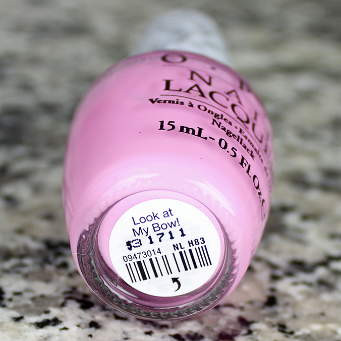 OPI Look at My Bow Review