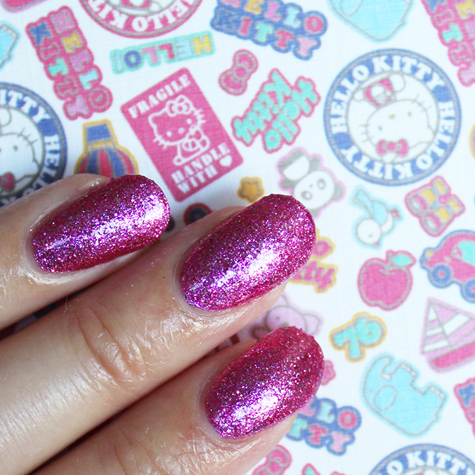 OPI Starry Eyed for Dear Daniel Hello Kitty OPI Swatch