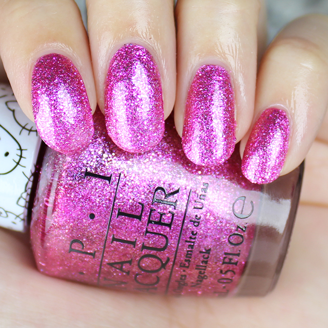 OPI Starry-Eyed for Dear Daniel Swatch Review