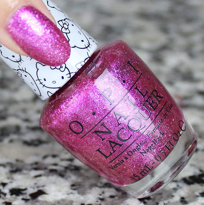 OPI Starry Eyed for Dear Daniel Swatch Review