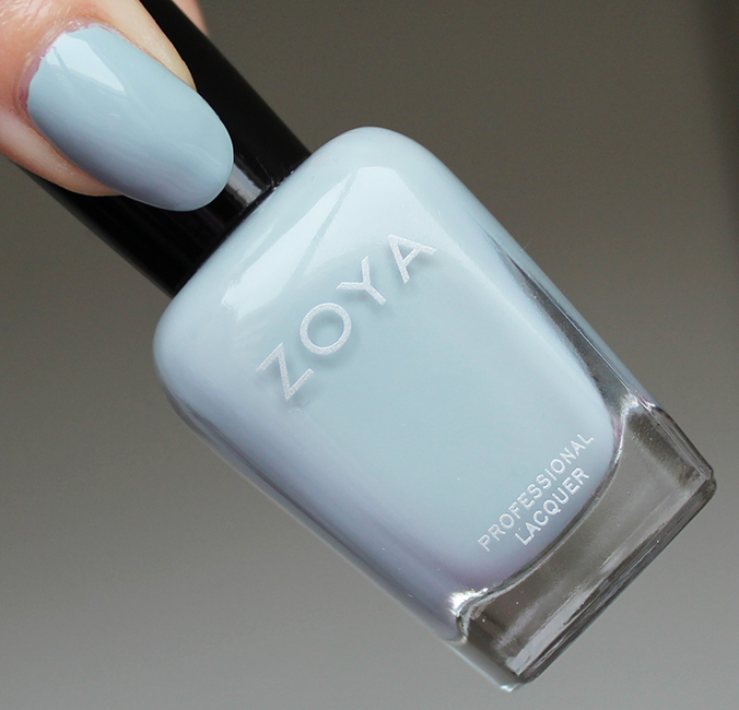 Zoya Whispers Collection Swatch Zoya Lake Swatches