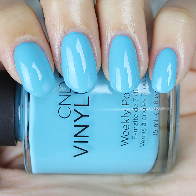 CND Vinylux Aqua-intance Swatch Flirtation Collection Swatches
